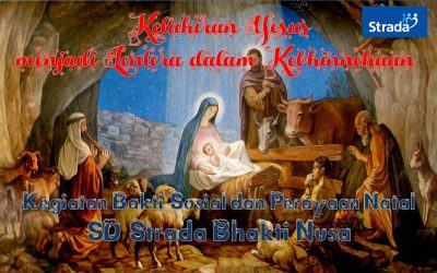 Kegiatan Bakti Sosial dan Perayaan Natal SD Strada Bhakti Nusa